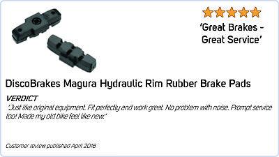 Grey Brake Pads for Magura Hydraulic Rim Brakes HS11 HS22 HS33 HS66 HS77 Shoes