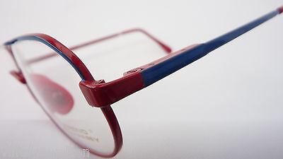 Trend Company Kinderbrille unisex blau rot Federbügel preiswert günstig neu 3