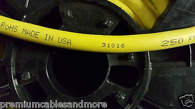 Carol 02635 16/3C Super Vu-Tron Supreme Yellow SOOW 600V Power Cable Cord /50ft 8