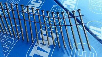 15 Degree Flat Wound Galvanised Coil Nails for Nail Gun. 2.1 x 25mm - 50mm 5