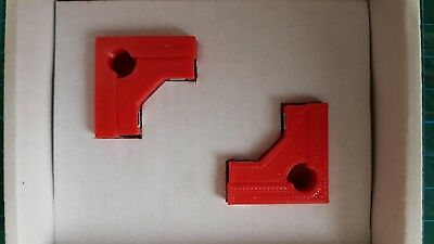 Model Makers 90° degree Right Angle Magnetic Clamps (2 Pairs) - in 4 Sizes 10