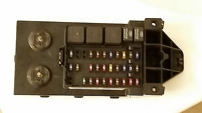 1999 ford f250 f350 super duty diesel fuse box relay panel