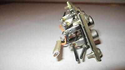 Pioneer SX-1000TW 6 Pin Tape//Phono Ect Terminal Jack /& Brackets /& Screws W52-014
