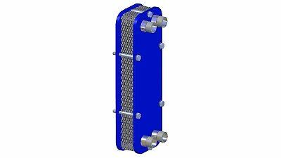 Stainless Heat Exchanger Wort-Cooler Plattenwürzekühler Aquarium Heating 5