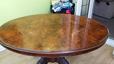 Antique Victorian Dining Table 10