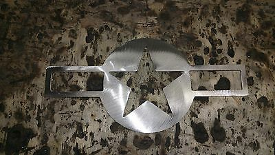 UNITED STATES AIR FORCE  Metal Sign 16 inch Hand Made in Waco Texas