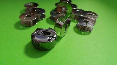 10 Spulen für Pfaff und Gritzner Nähmaschinen mit Umlaufgreifer Spulenkapsel