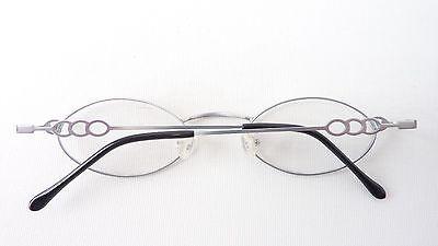 Brillenfassungen Leichte Brille Edelstahl Gestell Kleine Form Damen Dezent Fassung Gold Gr M