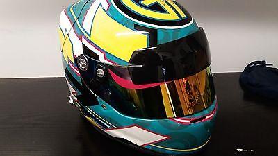 9325916e ... Arai GP6, SK6 Visor strip, looks like F1 drivers Zylon strip 4