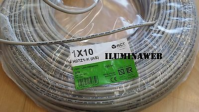 Corte x metro cable electrico flexible 10 mm2 Libre halogenos RCT, GENERAL CABLE 2