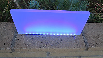 "1.5/"" x4/"" x 6/"" Custom Frosted  Acrylic//Plexiglass BLOCK For LED Decoration Base"