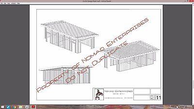 5 of 12 modern studio garage blueprints plans mancave building plan contemporary shed - Garage Blueprints