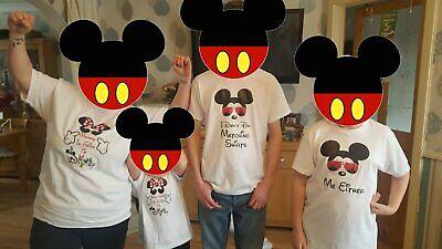 Family America Trip Disney Universal Seaworld Iron On T Shirt Transfer 2019 2