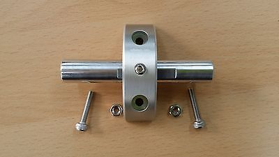 NEW!! nov L-Type wheel mount / SILVER, light weight for Brompton [nov010] 5