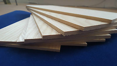 1 × Solid English Elm Wood Sheets 3mm 4mm or 6mm
