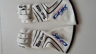 Handschuh FIA 8856-2000 Fahrerhandschuh Weiß Rallye Racing Motorsport Toorace 2