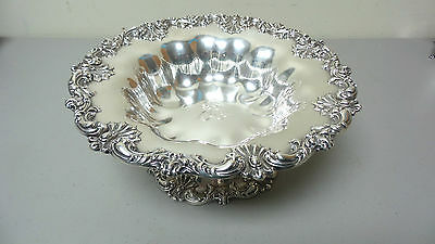 """Gorgeous American Redlich & Co Sterling Silver Large 10.5"""" Compote / Centerpiece 6"""