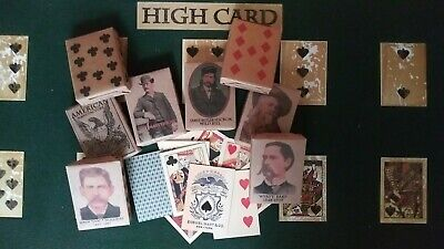 Faro Playing Cards of the Old West & Civil War Faro - Pharo - Poker 7