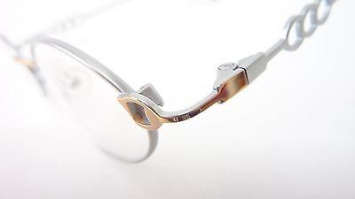 Leichte Brille Edelstahl Gestell Kleine Form Damen Dezent Fassung Gold Gr M Kleidung & Accessoires