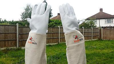 Beekeeping gloves Beekeeper protective Bee gloves 100% Leather & Cotton Zean 5