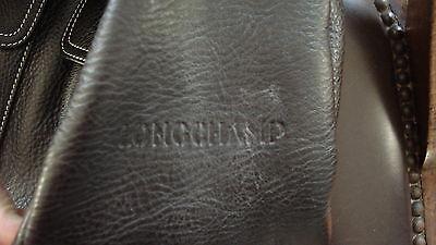 a in nera borsa con pelle borsa grande Borsa Longchamp tracolla o 7R7wdU