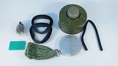NEW! GP-7VM GP7  GAS MASK GP-7 PMK-1 Mask NATO 40MM USSR Soviet Army FULL SET!!! 9