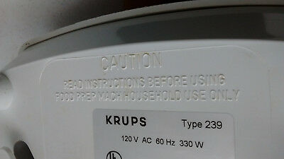 Pick PART] Krups 238| 239 |243 Mixer Blender 48 oz Replacement 6