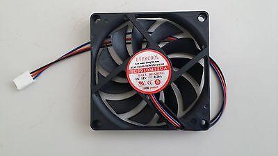 Evercool 80mm x 25mm 5v 3 pin Ball Bearing Fan Screws EC8025M05CA