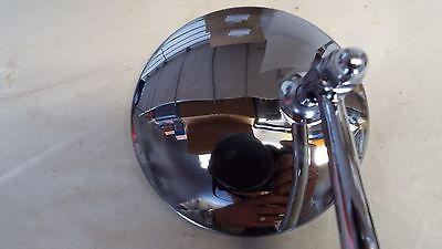 "4/"" Peep Mirror Door Edge Clip On Custom Hot rod Street Rat Fink Ford Chevy Dodge"