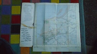 "Rare Ordnance Survey 2.5"" map ST36 Weston Super Mare 1959 Kewstoke Wick St Lawre 2"