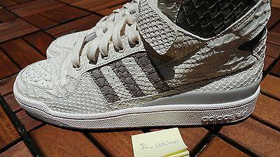 on sale 1dd48 a63aa ... Adidas Originals Forum HI OG Chalk WhiteGranite Python Snakeskin  B27671 DS SZ 6 6