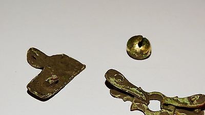 Perfect Set of Golden plated artifacts .  Hunnu,Alans. ca 3-5AD. 8