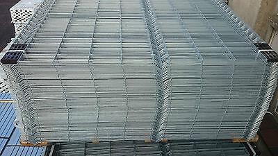 100 M Einstabmattenzaun 4mm 1730mm Metallzaun Gartenzaun 3d Zaun