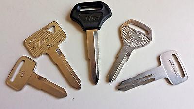 1 Kawasaki Replacement Key Cut to Code Series Z5251 to Z5500