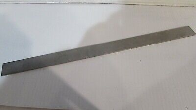 "1/8"" x 1-1/2"" X 12"" 304 STAINLESS STEEL FLAT BAR 5"