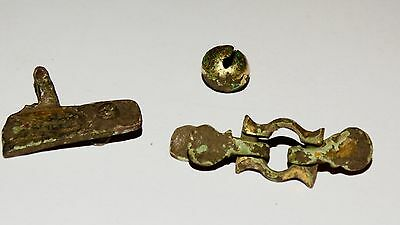 Perfect Set of Golden plated artifacts .  Hunnu,Alans. ca 3-5AD. 11