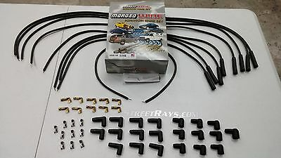 Unassembled Moroso Mag-Tune Universal Spark Plug Wires Kit HEI Straight Boot