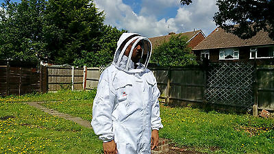 Beekeeping suit Beekeepers Bee Suit with Fencing Veil-All sizes UK Seller 9