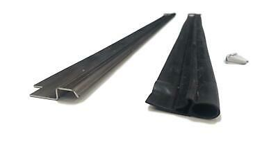 REAR DOOR METAL BLACK RETAINER /& SEAL FOR LAND ROVER DEFENDER 90 110 AFP710120B