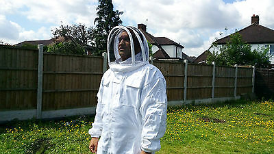 Beekeeping suit Beekeepers Bee Suit with Fencing Veil-All sizes UK Seller 11