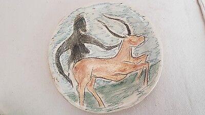 ceramic signed. céramique signée 2