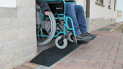 Türschwellenrampe Excellent 500/25 mm Rollstuhl Gehhilfe Rampe Türschwelle Stufe