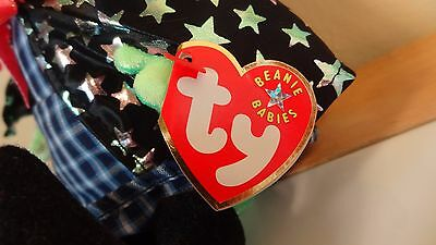 Ty Beanie Baby SCARY the Witch Plush 2001 PE Pellets Halloween 2001
