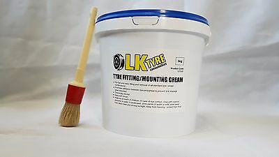 Tyre Fitting Cream  With Free Brush - Premium Lub / Paste / Soap Tyre Changer 2