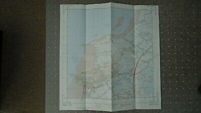 "Rare Ordnance Survey 2.5"" Map ST36 Weston Super Mare 1975 Wick St Lawrence WC&PL 2"