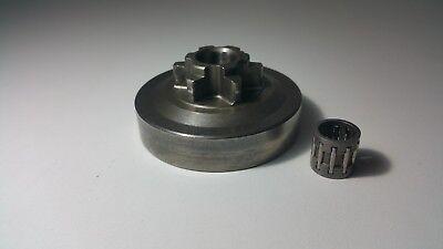 Cloche d'embrayage tronçonneuse élagueuse 25 cm3 pignon 6 dents 3/8 LP 5