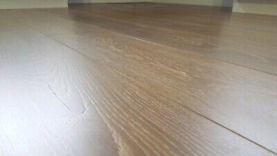 Sample Top Quality Wide Plank European Oak Laminate Flooring Whistler 12mm