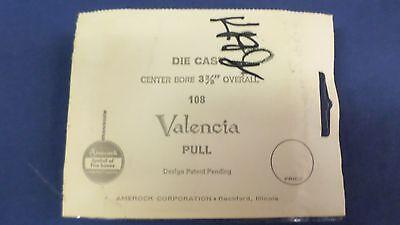 1457M Vtg Amerock Ornate Valencia 108 Drawer/Cabinet Pull Antique English NOS 7