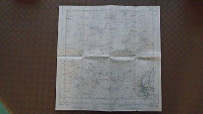 "RARE PRISTINE Ordnance Survey 2.5"" Map TL42 Bishops Stortford 1961 Little Hadham 2"