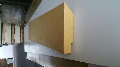 Schneeräumleiste Schürfleiste Polyurethan PUR für Schneepflug 2000 x 200 x 20 mm